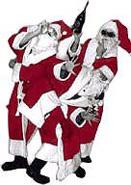 Comedy Weihnachtsmann Bescherung Weihnachtsfeier