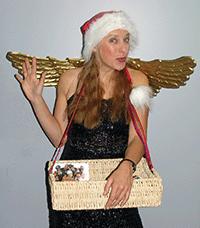 Engel Engelchen Bauchladen Weihnachtsfeier Idee Geschenke