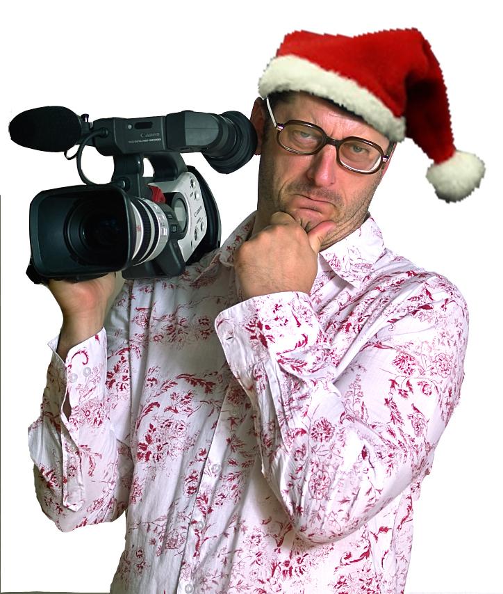 Weihnachtsfeier - Kameramann