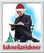 Xmas-Schnellzeichner-Karikaturist-110