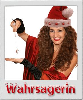 Wahrsagerin Weihnachtsfrau Weihnachtsfeier Idee für Köln, Düsseldorf, Bonn, Leverkusen, Düren, Aachen, NRW